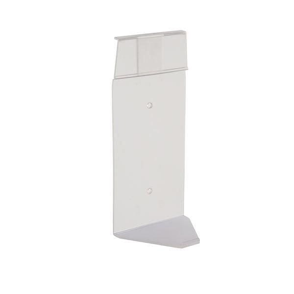 Wandhalterung für Plum Augenspülflaschen im Einzelkarton