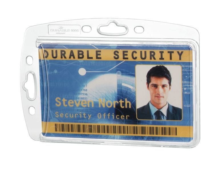 DURABLE Hartbox-Kartenhalter