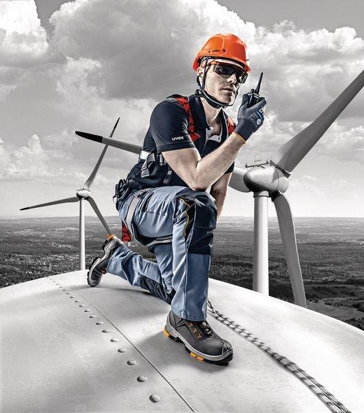 uvex Bauarbeiter-Schnürstiefel S3 - Persönliche Schutzausrüstung