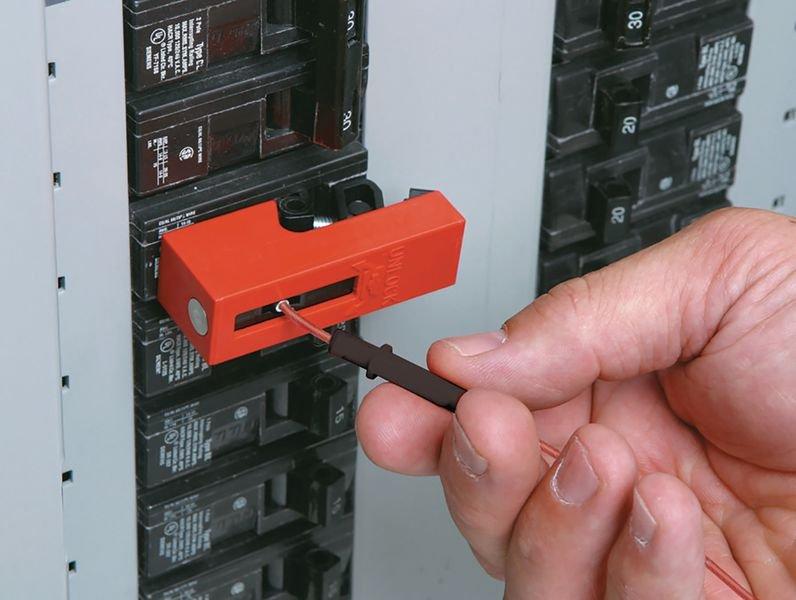 Snap-On-Verriegelung für Schutzschalter - EZ-Panel-Loc™-System