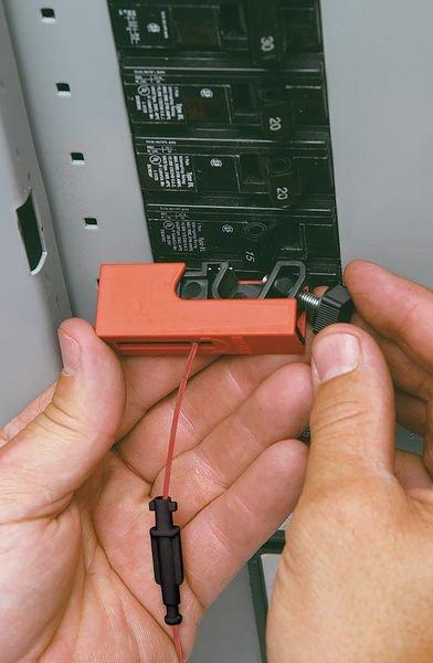 Klemmverriegelungs-Set für Schutzschalter - EZ-Panel-Loc™-System - Verriegelung für elektrische Gefahren