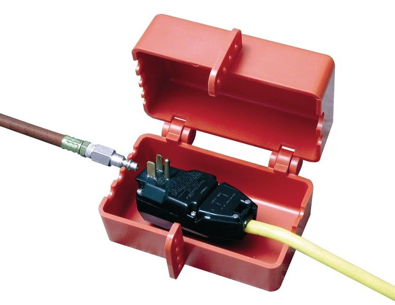 Große elektrische und pneumatische Absperrungen