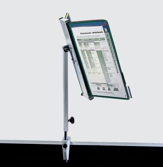 Tischsäule für Stahldraht-Sichttafel-Systeme - Sichttafel-Systeme