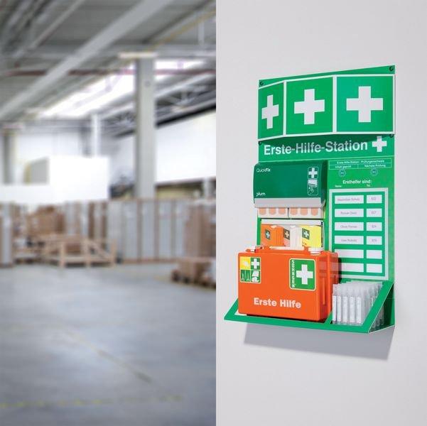 PREMIUM Erste-Hilfe-Stationen, DIN 13157 - Erste Hilfe und Hygiene