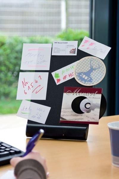 Schreibtisch-Pinnwand - Präsentation und Organisation