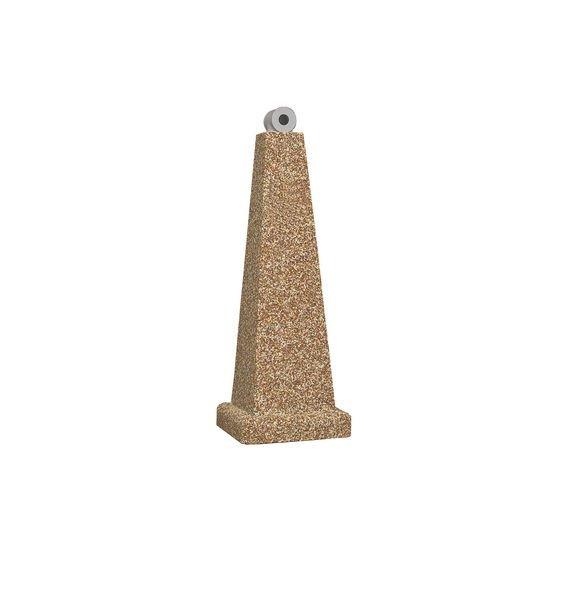 Pyramiden-Standascher, aus Kunststoff