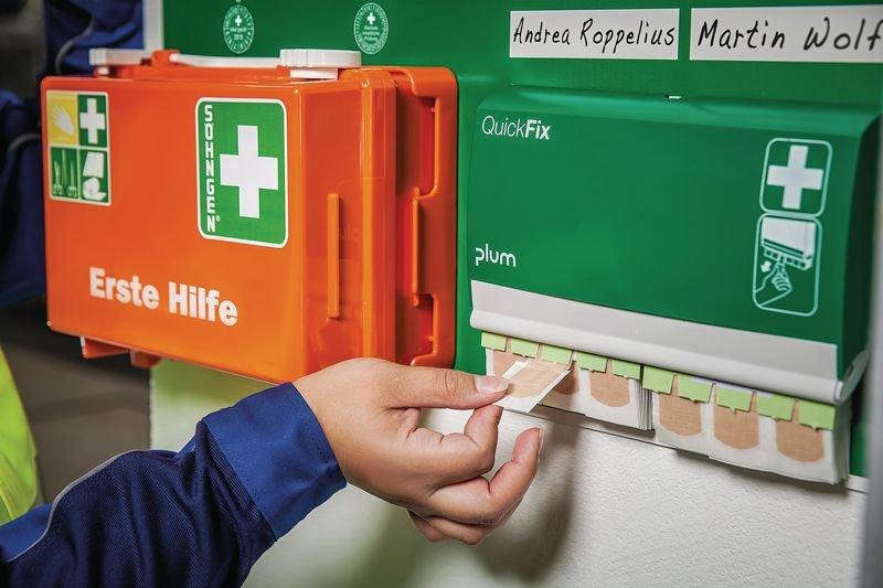 Erste-Hilfe-Stationen - Erste-Hilfe-Koffer