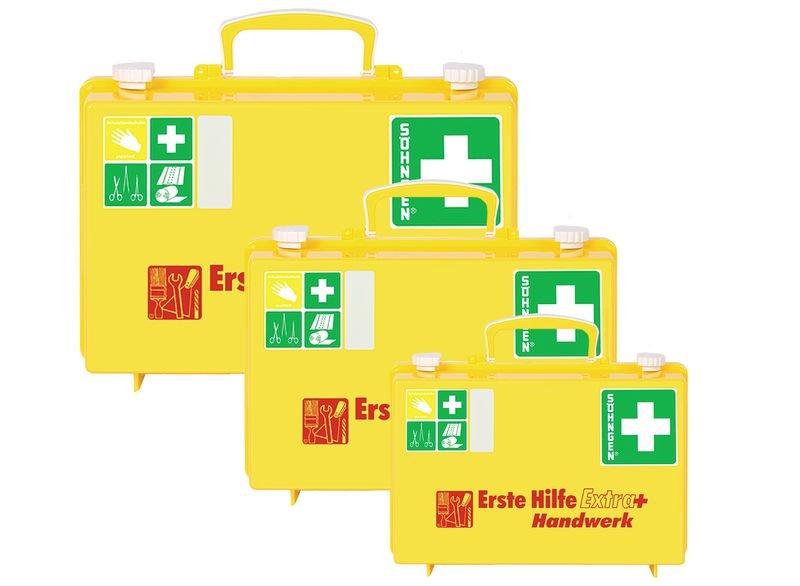 SÖHNGEN Erste-Hilfe-Koffer Extra Plus für Verwaltung, DIN 13157 - Erste-Hilfe-Koffer