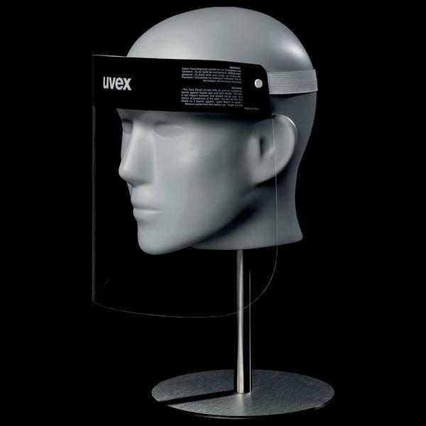 uvex Gesichtsvisier als Spuckschutz - Schutzbrillen und Gesichtsschutz