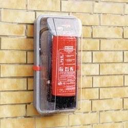 Feuerlöscher Schutzhaube zum Schutz vor Missbrauch