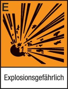 Explosionsgefährlich