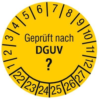 Prüfplakette DGUV Individuell