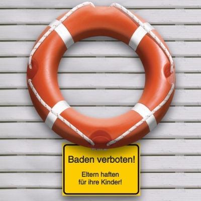 Rettungsring Baden verboten Eltern haften für Ihre Kinder