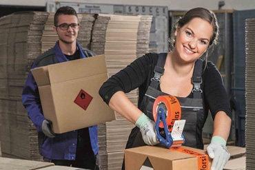 SETON Verpackung und Versand