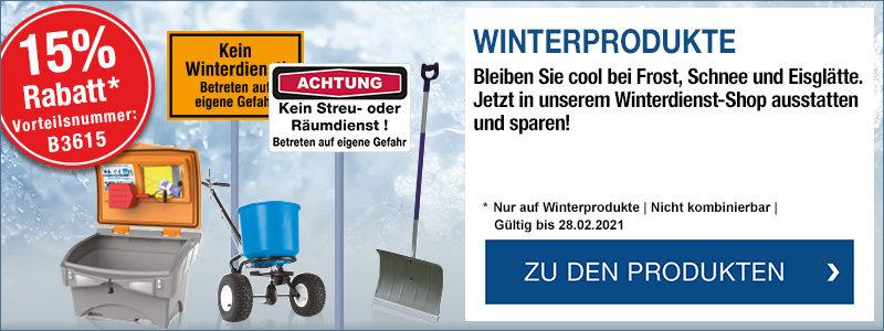 Mit SETON sicher durch den Winter: 15 % Rabatt mit der Vorteilsnummer B3615