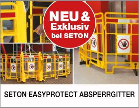 SETON EasyProtect Absperrgitter