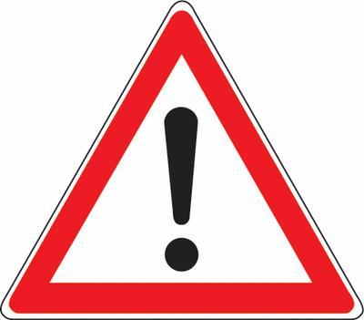 Andere Gefahren Verkehrszeichen SSV Schweiz