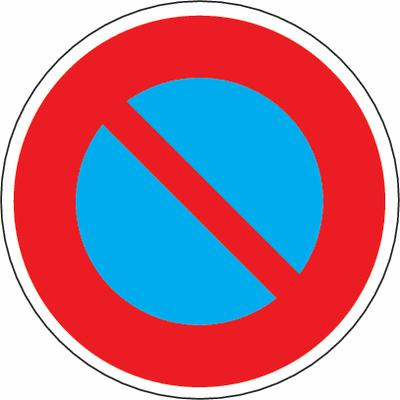 Parkieren verboten Verkehrszeichen SSV Schweiz