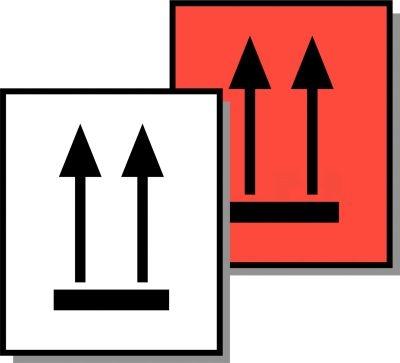 Symbol-Versandaufkleber