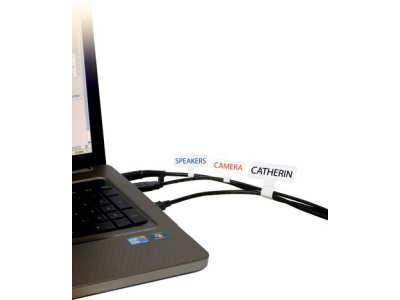 Etiketten zur Kabelbeschriftung aus Polyesterfolie
