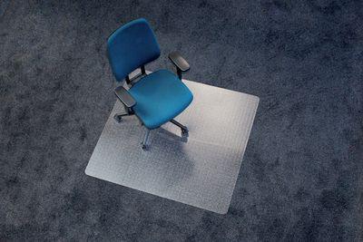 Kunststoff-Bodenschutzmatte für Teppichboden