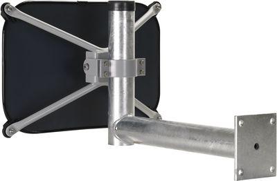 Rohrpfosten-Befestigung für Spiegel