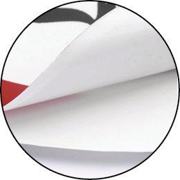 Werbeetiketten aus Polyesterfolie