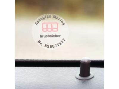 Klebeetiketten aus Vinylfolie