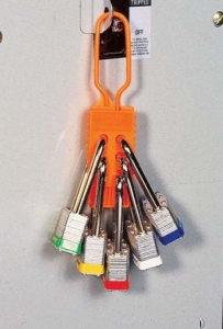 Nichtleitender-Schließbügel aus Nylon mit Schlössern