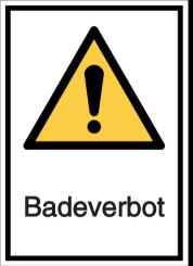 Vorlage: Badeverbot