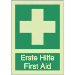 Vorlage: Erste Hilfe - First Aid