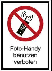 Vorlage: Foto-Handy benutzen verboten