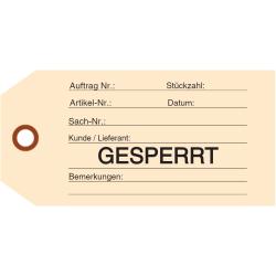GESPERRT