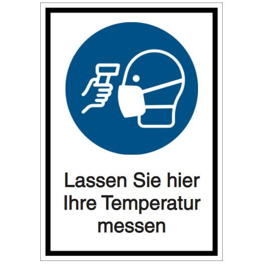 Vorlage: Lassen Sie hier Ihre Temperatur messen