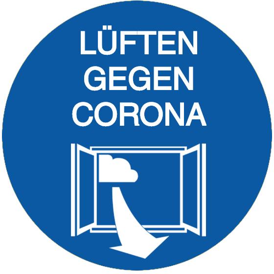 Vorlage: Lüften gegen Corona