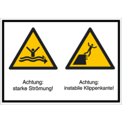 Vorlage: Mehrsymbol-Schild