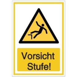 Vorlage: Vorsicht Stufe!