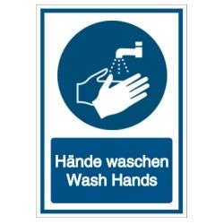Hände waschen - Wash Hands