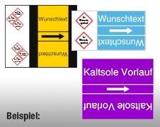 Rohrstoffkennzeichnung Rolle