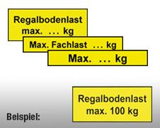 Individuelle Regalkennzeichnung