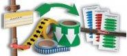 Rohrleitungsschilder, Rohrmarkierungen und Zubehör