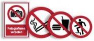Verbotszeichen neue ASR A1.3, EN ISO 7010