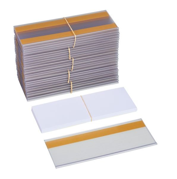 Etikettenhalter, selbstklebend oder magnetisch, einfarbig