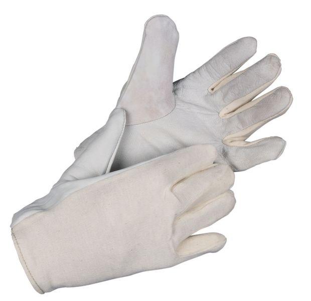 Nappaleder-Trikot-Handschuhe