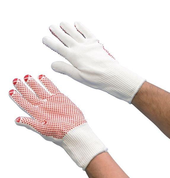 Polyamid-Handschuhe mit Noppen, Feinstrick