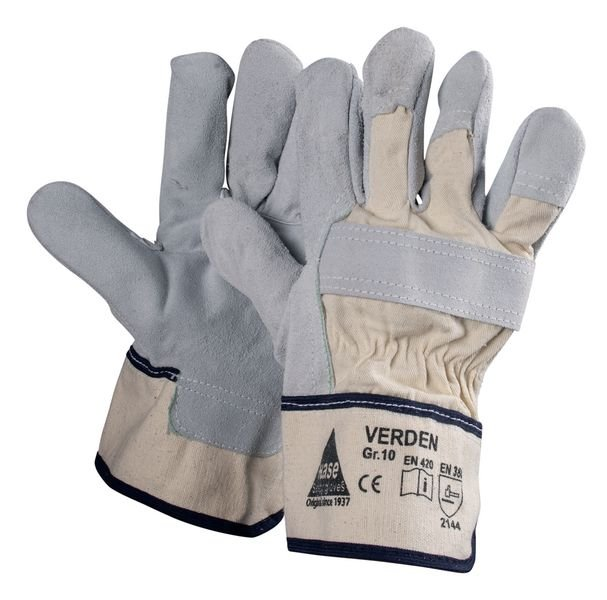 ECO Rindkernspaltleder-Handschuhe