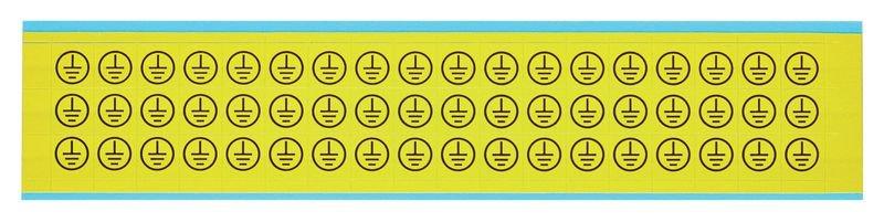 Schutzleiter - Etiketten zur Kennzeichnung von Erdung
