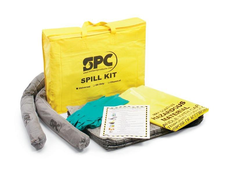 Notfalltaschen-Set für Gefahrstoffunfälle und Leckagen