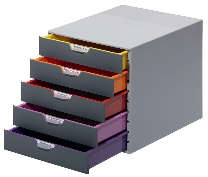 DURABLE Multicolor-Schubladenboxen