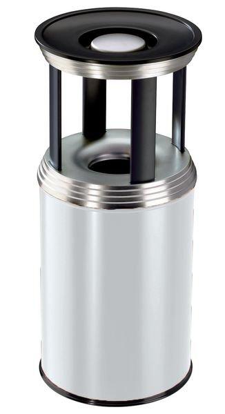 Hailo CLASSIC Sicherheitsabfallbehälter, mit Ascheraufsatz